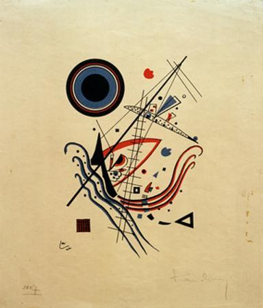 Blue, 1922 by Wassily Kandinsky