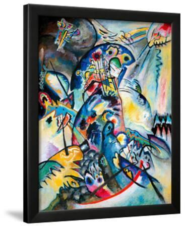 Blue Comb, 1917 by Wassily Kandinsky