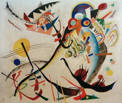 Blue Segment, 1921 by Wassily Kandinsky