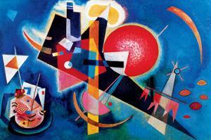 Blue by Wassily Kandinsky