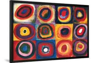 Color Study Squares by Wassily Kandinsky