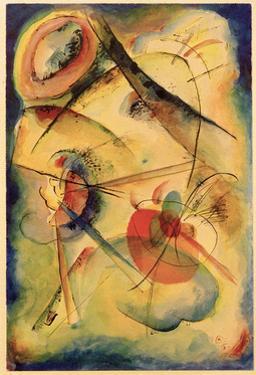 Composition Z, 1915 by Wassily Kandinsky