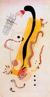 Crawling by Wassily Kandinsky