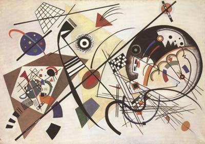 Durchgehender Strich by Wassily Kandinsky