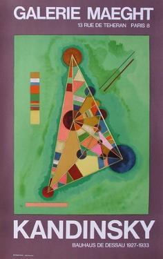 Expo Galerie Maeght by Wassily Kandinsky