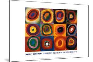 Farbstudie Quadrate, c.1913 by Wassily Kandinsky