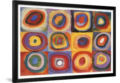 Farbstudie Quadrate, c.1913 by Wassily Kandinsky