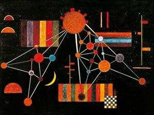 Geflecht von Oben no. 231, c.1927 by Wassily Kandinsky