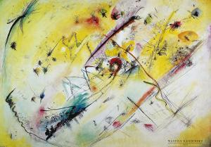 Helles Bild, 1913 by Wassily Kandinsky