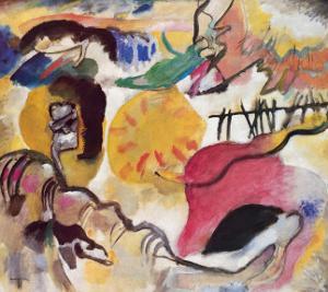 Improvisation No. 27 (The Garden of Love), c.1912 by Wassily Kandinsky