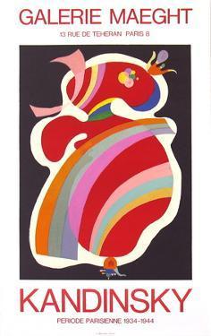 La Forme Rouge, 1938 by Wassily Kandinsky