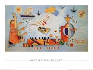 Milder Vorgang, 1928 by Wassily Kandinsky