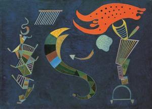 Mit dem Pfeil, c.1943 by Wassily Kandinsky