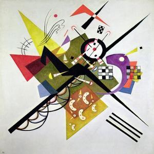 On White II by Wassily Kandinsky