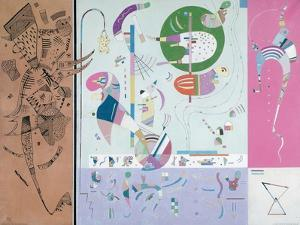 Parties diverses by Wassily Kandinsky