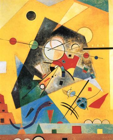Quiet Harmony by Wassily Kandinsky