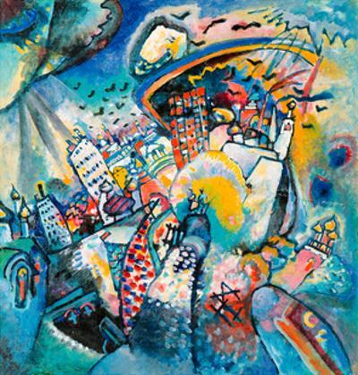 Red Square in Moscow, 1916 by Wassily Kandinsky
