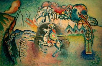 Rider, St George, 1915 by Wassily Kandinsky