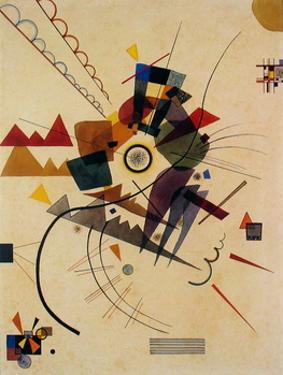 Ringsum 1924 by Wassily Kandinsky