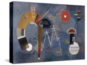 Round and Pointed by Wassily Kandinsky
