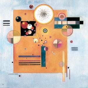 Sanfter Nachdruck by Wassily Kandinsky