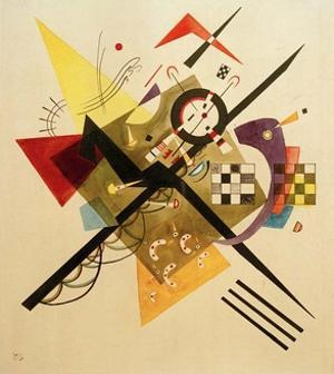 Sketch for On White II, 1922 by Wassily Kandinsky