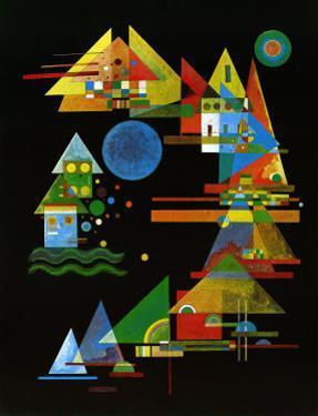 Spitze in Bogen, c.1927 by Wassily Kandinsky