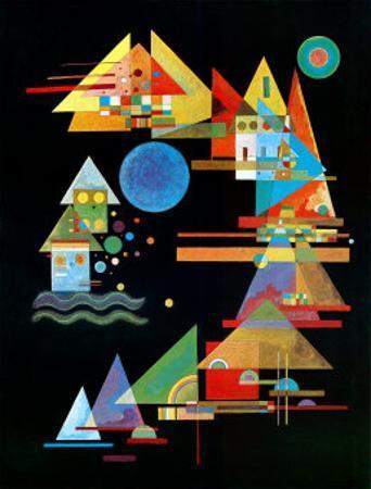Spitzen In Bogen, c.1927 by Wassily Kandinsky