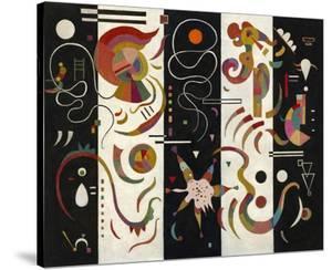 Striped (Raye) by Wassily Kandinsky