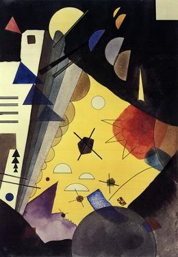 Tension in Height (No text) by Wassily Kandinsky