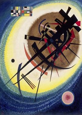 The Bright Oval by Wassily Kandinsky