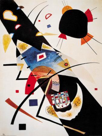 Two Black Spots by Wassily Kandinsky