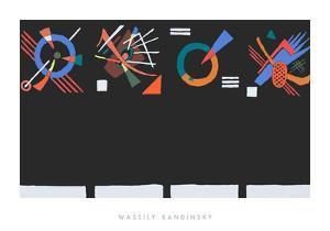 Vier Eckstucke, 1922 by Wassily Kandinsky