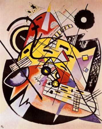 White Dot by Wassily Kandinsky