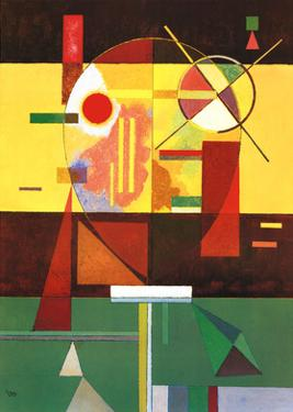 Zersetzte Spannung by Wassily Kandinsky