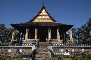 Wat Phra Kaew, Buddhist Temple, Vientiane (Viangchan), Laos, 16th Century