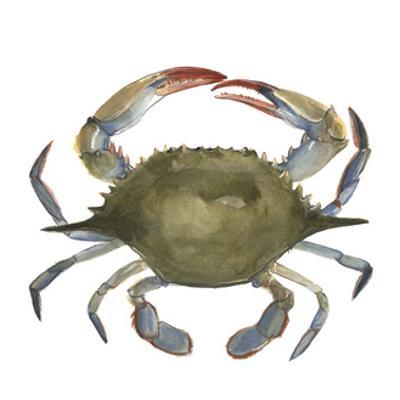 Watercolor Crab II