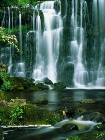 Waterfall Hebden Gill N Yorshire England