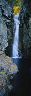 Waterfall in a Forest, Moultonborough, Carroll County, New Hampshire, USA