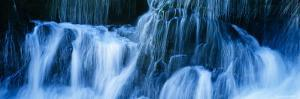 Waterfall on a Cliff, Santa Cruz, California, USA