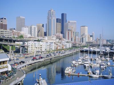 Waterfront and Skyline of Seattle, Washington State, USA