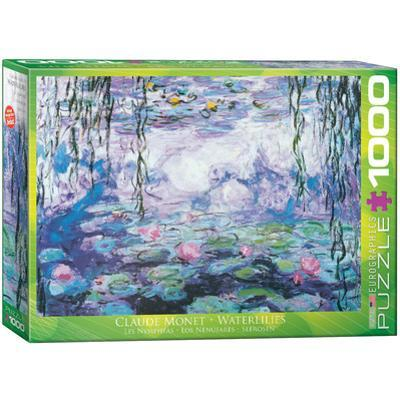 Waterlilies by Claude Monet 1000 Piece Puzzle