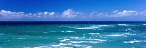 Waves in Ocean, Waikiki Beach, Oahu, Hawaii Islands, Hawaii, USA