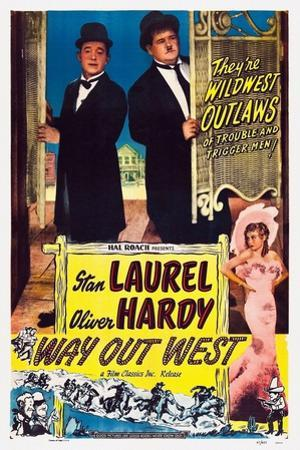 Way Out West, 1937