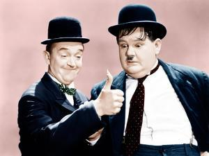 Way Out West, Stan Laurel, Oliver Hardy, 1937