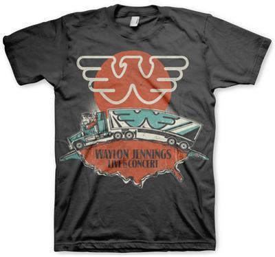 Waylon Jennings- Live in Concert