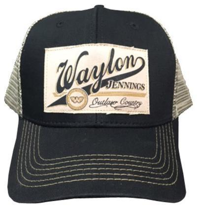 Waylon Jennings- Outlaw Country Snapback