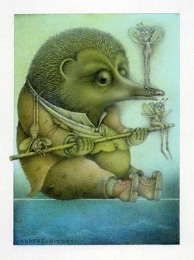 Balancing Hedgehog and Friends by Wayne Anderson