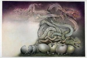 Dragon Birth by Wayne Anderson