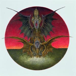 Mating Dragons, 1979 by Wayne Anderson